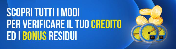 Verifica credito residuo